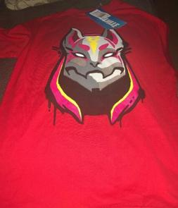 Fortnite Licensed T Shirt X-Large Youth Boys Drift Mask Char