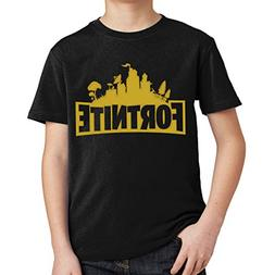 fresh tees Gold Fortnite Tools of The Trade Youth Tshirt