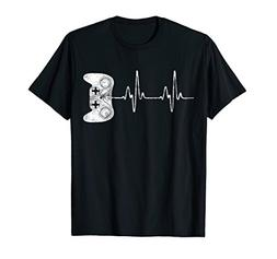 Gamer Heartbeat T-Shirt Video Game Lover Gift Shirt