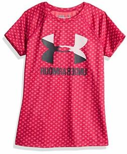 girls novelty big logo short sleeve t