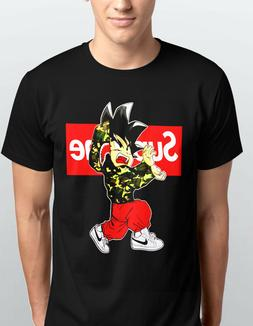 GOKU PREME ARMY JACKET BAPE T SHIRT KIDS & ADULTS RED WRITIN