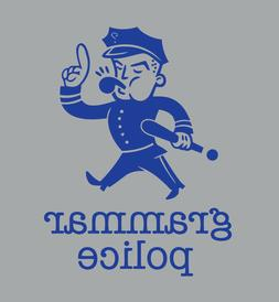 Grammar Police shirt Funny Novelty t-shirt There Their They'
