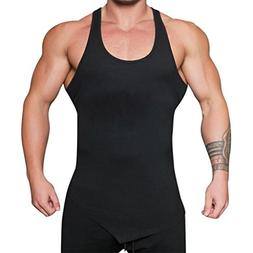 NREALY Men's Gyms Bodybuilding Fitness Muscle Sleeveless Sin
