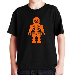 Halloween Lego Skeleton Youth Black