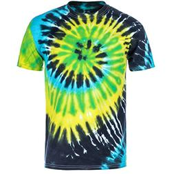 Magic River Handcrafted Tie Dye T Shirts - Island Breeze - K