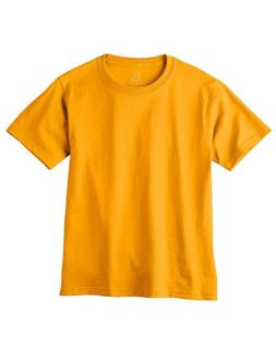 Fruit Of The Loom HD6BY Youth Lofteez HD T-Shirt - Gold - XL