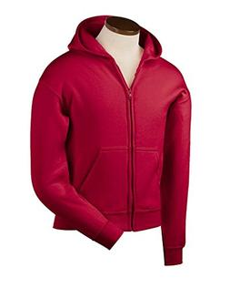Gildan Heavy Blend Youth 8 oz., 50/50 Full-Zip Hooded Sweats