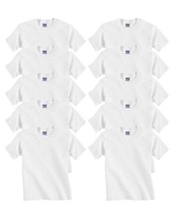 Gildan Youth Heavy Cotton T-Shirt, White, Small
