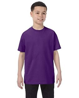 Gildan Heavy Cotton Youth T-Shirt_Purple_X-Large