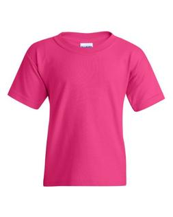 Gildan Heavy Cotton Youth 5.3 oz. T-Shirt, Large, HELICONIA