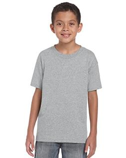 Gildan Heavy Cotton Youth Tshirt - Sport Grey - XS