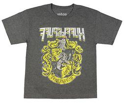 Harry Potter Hufflepuff Shirt Youth Distressed House Crest G