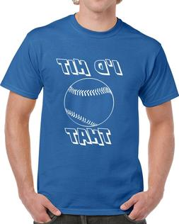 I'd Hit That Baseball T Shirt Funny Novelty Gift Sports Clot