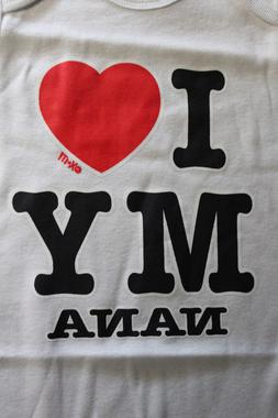 I love nana funny t-shirt tee new boy girl graphic novelty c