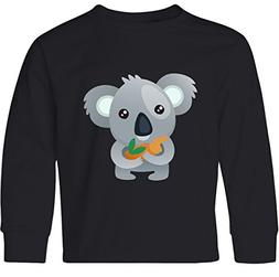 inktastic Cute Koala Bear Youth Long Sleeve T-Shirt Youth Sm