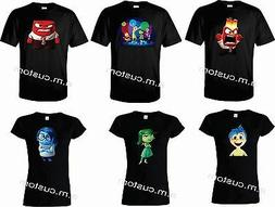 Inside Out movie All Characters Funny cute Shirts Adult,Ladi