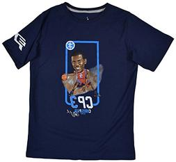 NIKE Jordan Big Boys  Chris Paul CP3 Guard T-Shirt-Navy-Yout