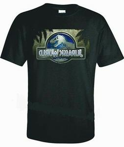 JURASSIC WORLD T-SHIRT  NEW MOVIE NICE COOL POPULAR ANY SIZE