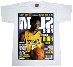 kobe bryant t shirt slam cover men