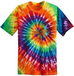 Koloa Surf  Youth Colorful Tie-Dye T-Shirt,M-Rainbow