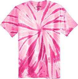 Koloa Surf Co. Colorful Tie-Dye T-Shirt,4XL-Pink