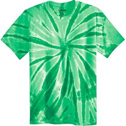 Joe's USA Koloa Surf  Youth Colorful Tie-Dye T-Shirt,S-Kelly