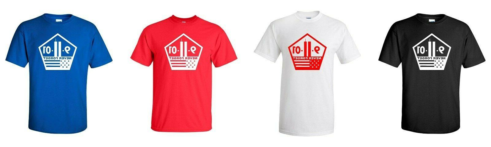 9/11 Memorial T Tee Mens and Youth Sizes Forget