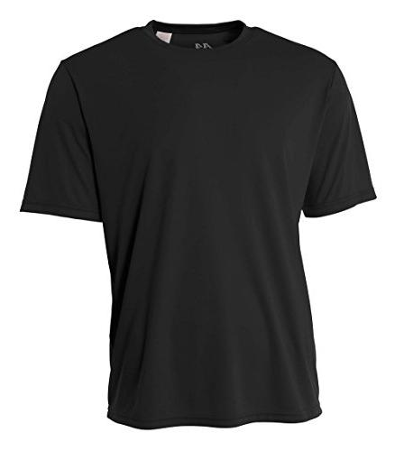 A4 Youth Cooling Performance Crew, XS, Black