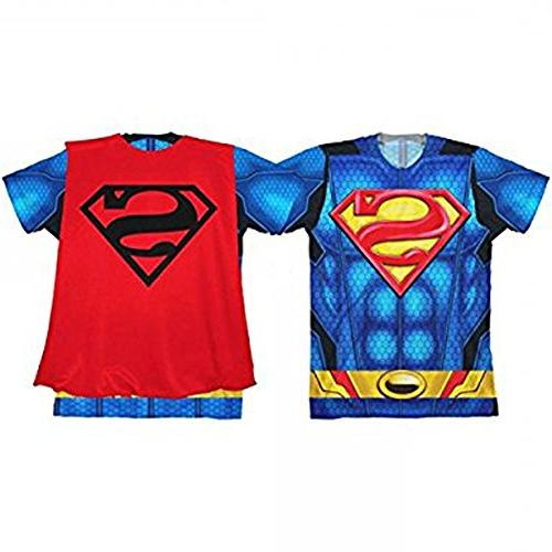 DC Superman Caped Costume Tee, Youth )