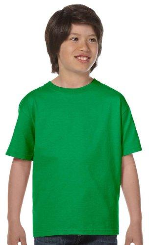 Fruit of the Loom Youth 6 oz. T-Shirt, KELLY GREEN, Large