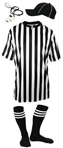 Mato /& Hash Childrens Referee Shirt Ref Costume Toddlers Kids Teens