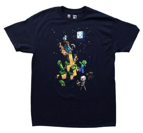 Official Licensed Minecraft Tight Spot Youth T-Shirt -- XL