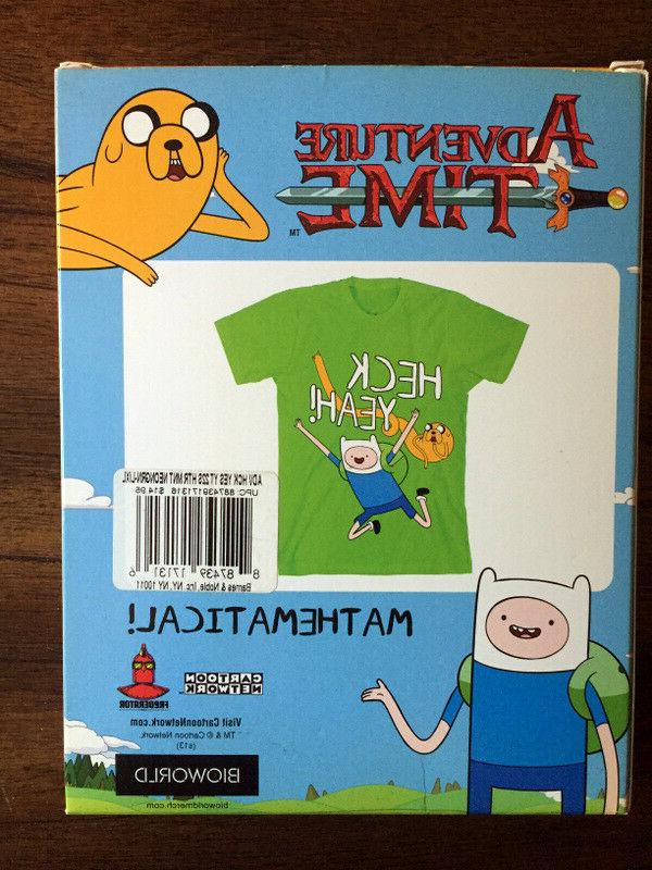 adventure time t shirt heck yeah youth