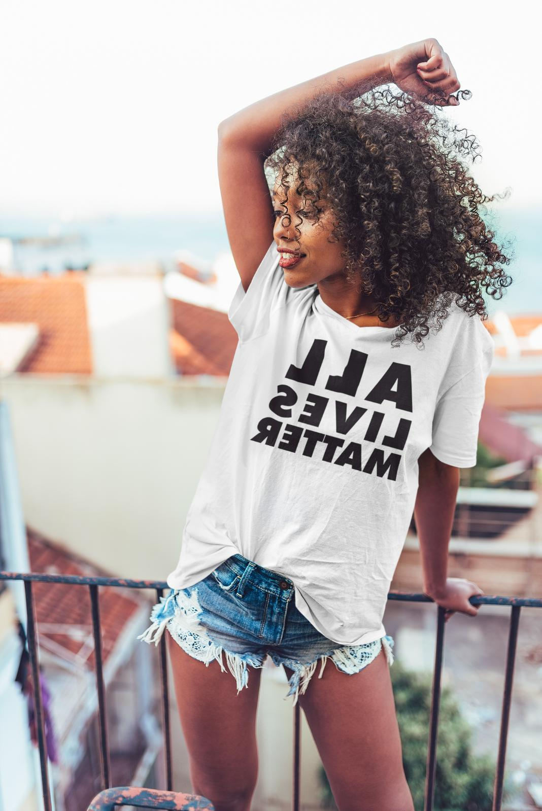all lives matter tee shirts all colors