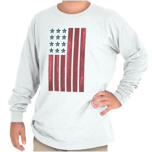 american flag stars stripes patriotic gift youth