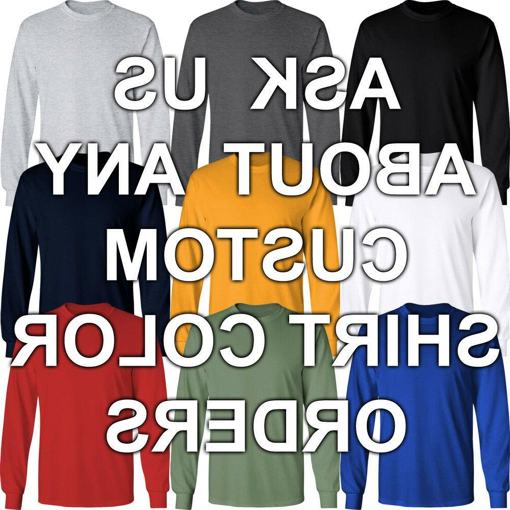 Basic Sleeve Neck Solid Men Youth Blank Color