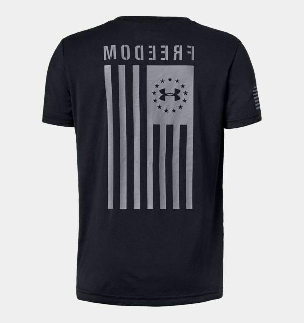Under Flag T-Shirt Youth Med-27-29""