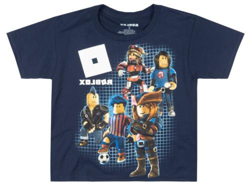 boys characters t shirt glow in