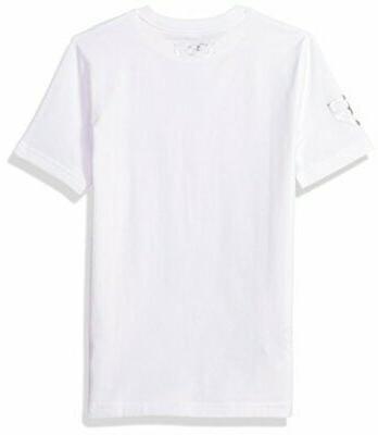 Under Armour Heater 5 T-Shirt,White, Size Youth Large