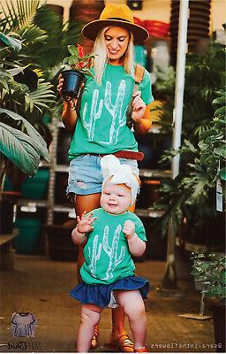 cactus adult and youth t shirt cactus