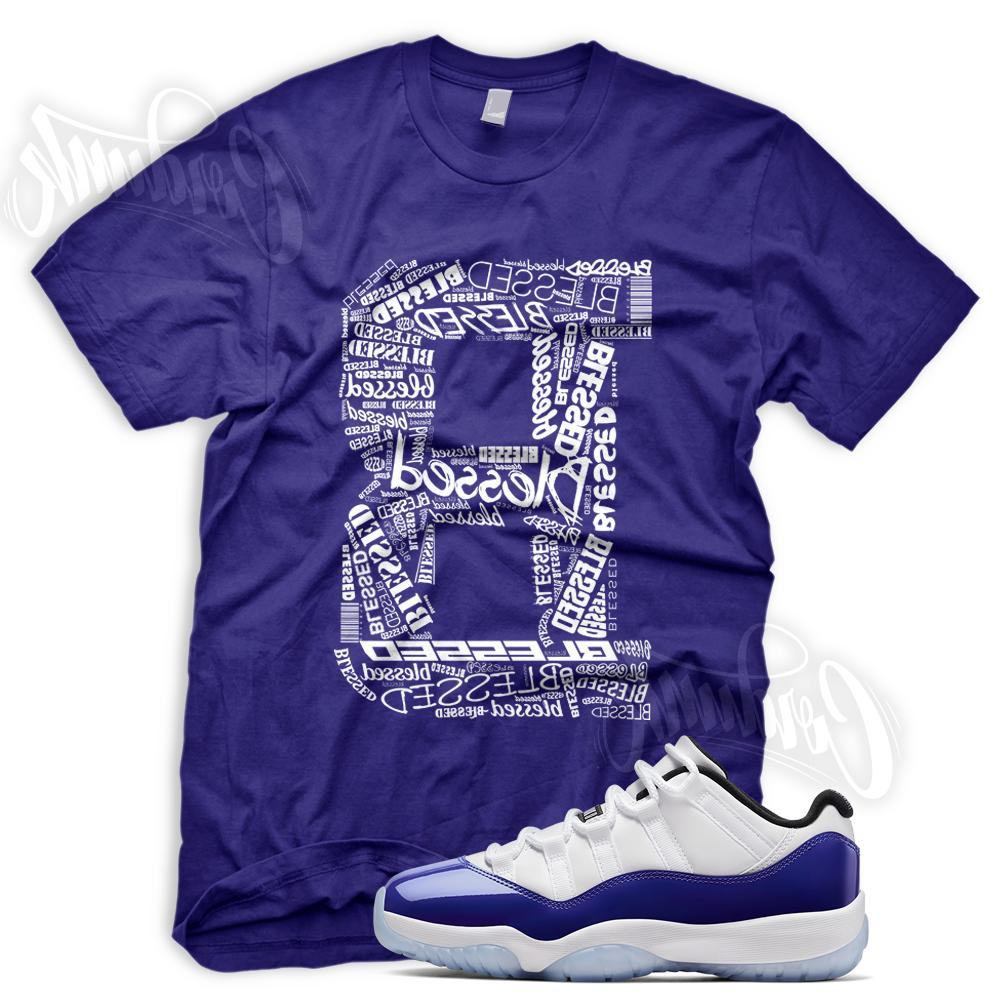 concord b blessed sneaker t shirt