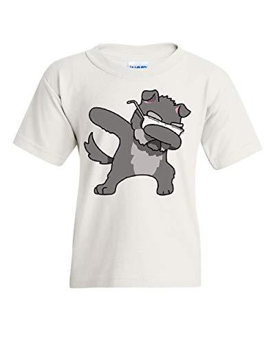 dabbing dog glasses youth t