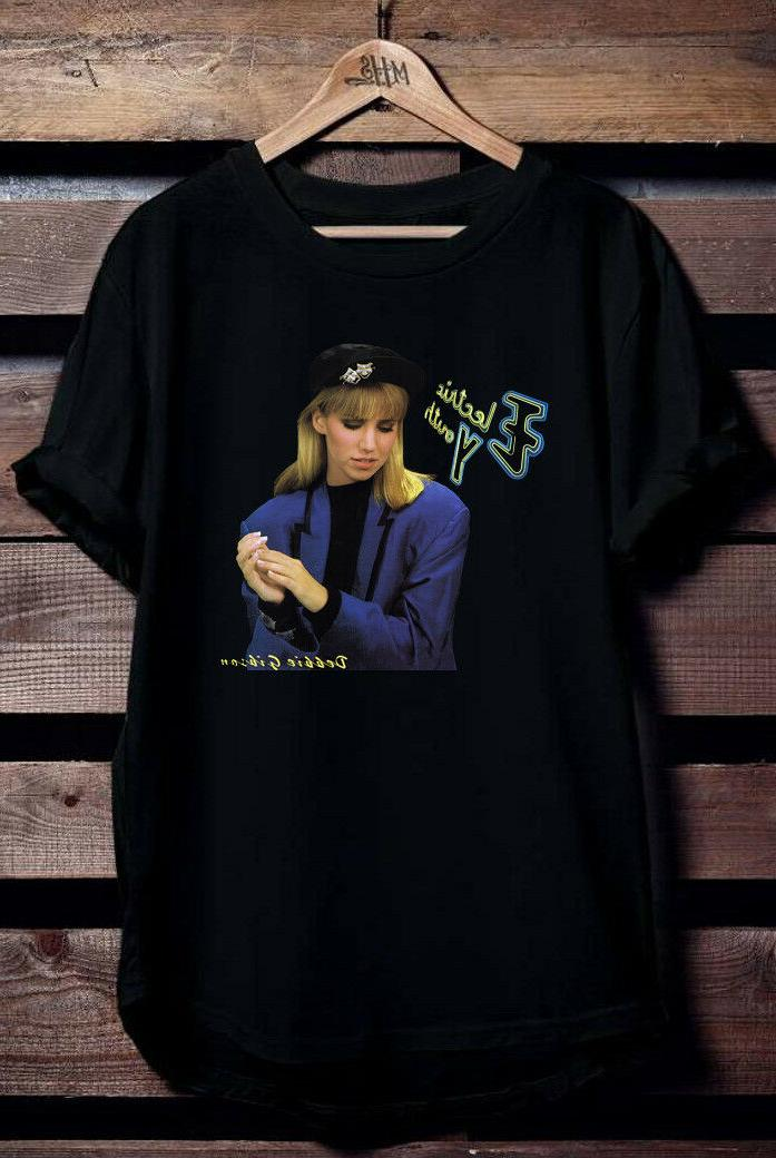 debbie gibson electric youth black t shirt