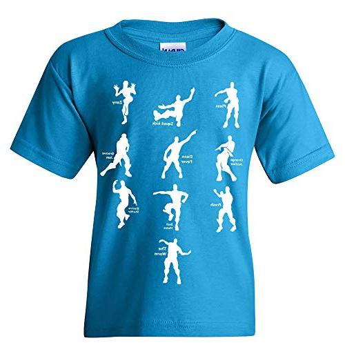 emote dances funny youth t shirt large