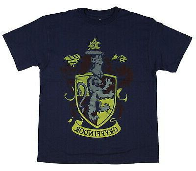 harry potter gryffindor faded crest youth t