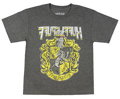 harry potter hufflepuff shirt youth distressed house