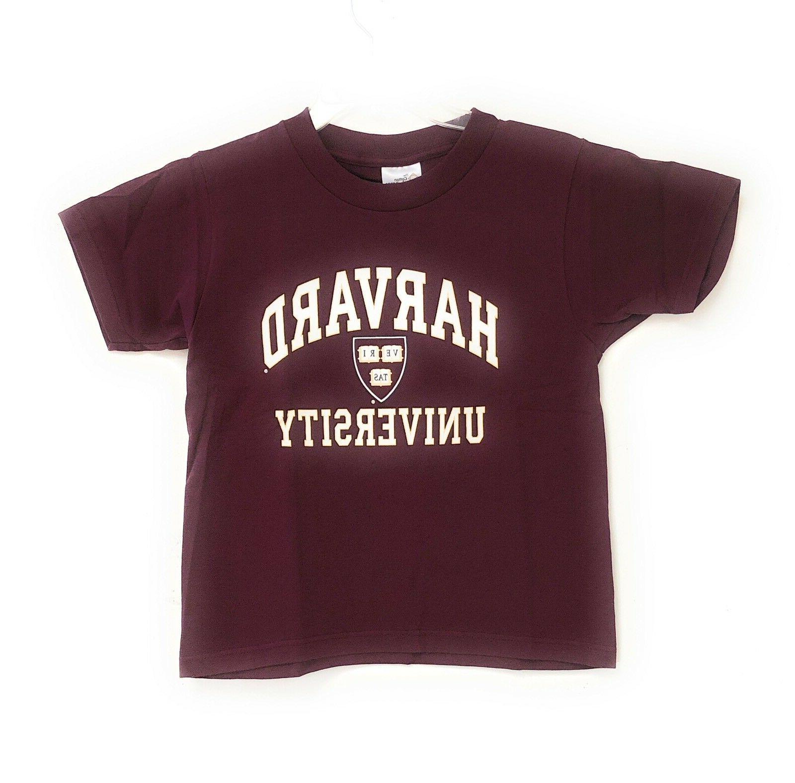 Harvard Crimson Youth Kids NCAA Logo Tee Made in