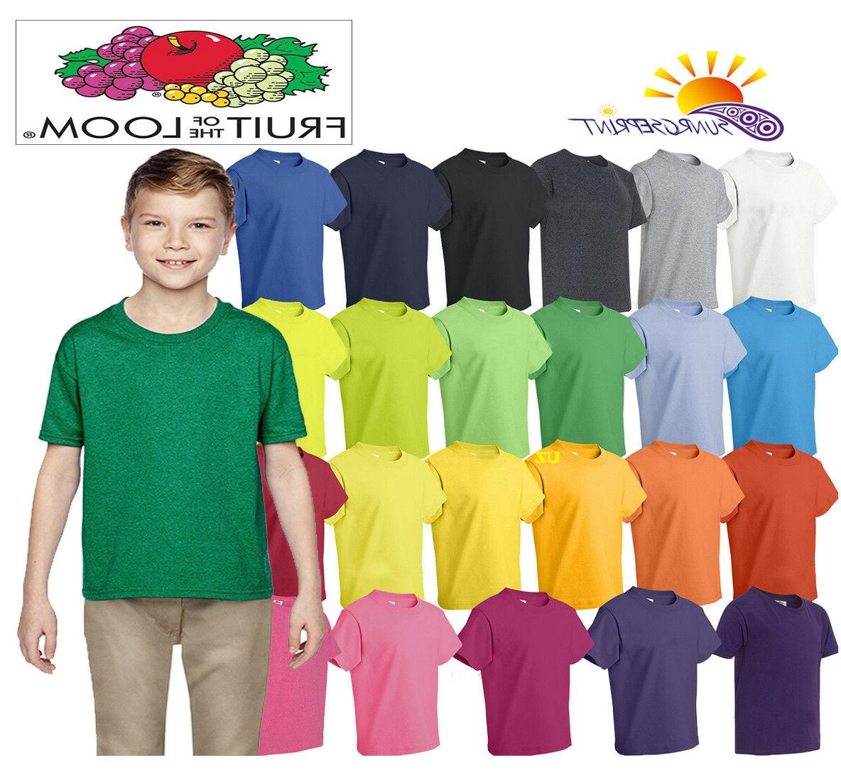 hd cotton youth short sleeve t shirt