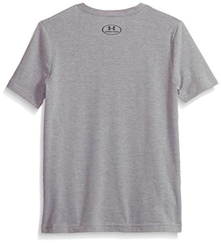 Under Armour Plate T-Shirt, Heather X-Large
