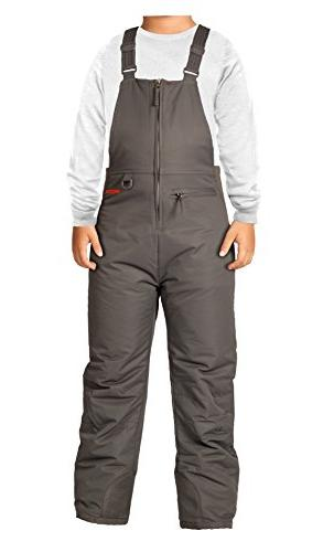 insulated youth snow bib overalls